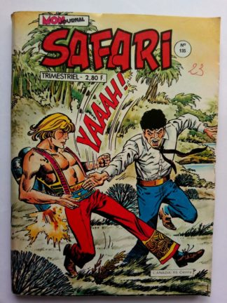 BD SAFARI N°135 Mon Journal