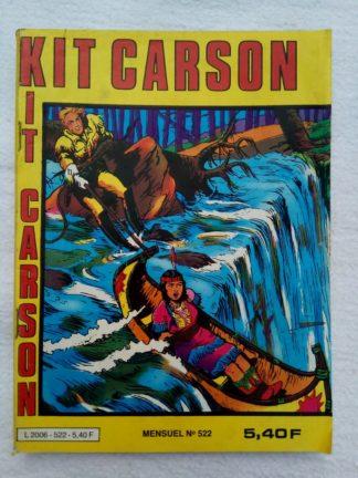 BD KIT CARSON N°522 IMPERIA 1983 Les idoles d'or