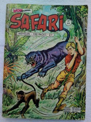 SAFARI (Mon Journal) N°95 Katanga JOE – Brelan de menteurs