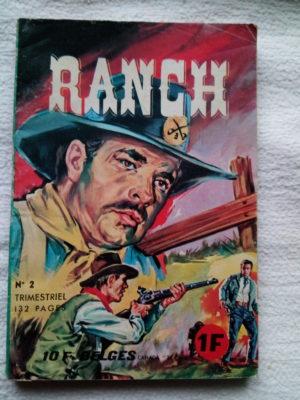 RANCH N°2 CHASSEURS DE PRIMES (Edi Europ 1966)