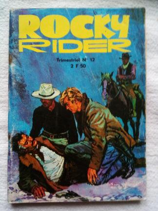 ROCKY RIDER (Jeunesse et Vacances) N°12 La cabane du silence
