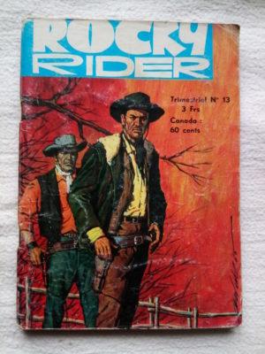 ROCKY RIDER (Jeunesse et Vacances) N°13 Dix mille dollars pour un shérif