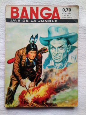 Banga l'As de la Jungle N°62 – Trois panthères – Editions des Remparts 1967
