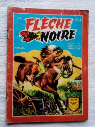 FLECHE NOIRE (AREDIT) N°24 L'étoile de laiton