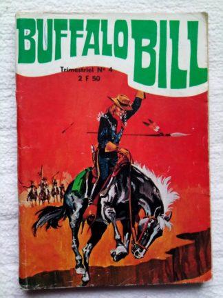 BUFFALO BILL N°4 La guerre des saloons (Jeunesse et Vacances 1974)