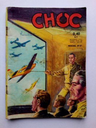 CHOC (1E SERIE) N°31 - Artima 1962 - La patrouille caméra