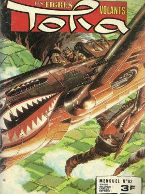 TORA LES TIGRES VOLANTS N°92 Le cas Bob Risly (IMPERIA 1979)