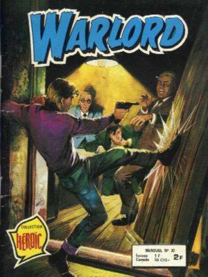 WARLORD N°30 Détournement d'œuvres d'art (AREDIT 1979)