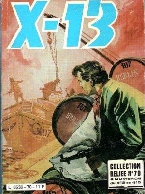 X13 AGENT SECRET ALBUM RELIE 70 (n°412-413-414-415) IMPERIA 1985