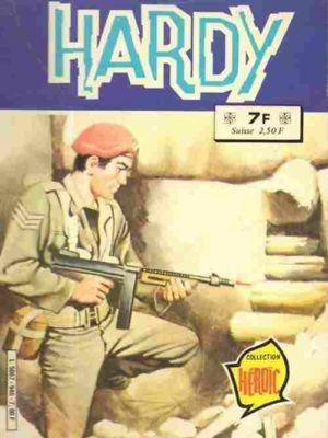 HARDY 2e série ALBUM RELIE 946 (SPECIAL N°1 – HARDY N°55-57) AREDIT 1981