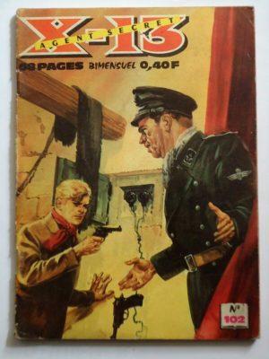 X13 AGENT SECRET N°102 – Médecins de campagne – IMPERIA 1965