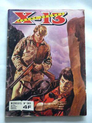 X13 AGENT SECRET N°383 L'eau lourde (IMPERIA 1981)