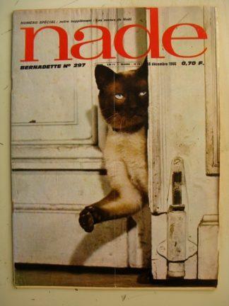 NADE (Bernadette) n°297 (18 décembre 1966) Les jumelles (Janine Lay) Jorge Domenech - Marculeta