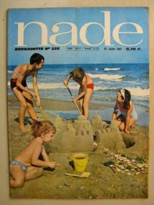 NADE N°328 (23 juillet 1967) Les jumelles – le village abandonné (Janine Lay)