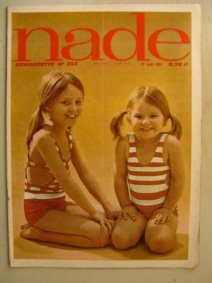NADE N°333 (27 août 1967) Les jumelles – le village abandonné (Janine Lay)