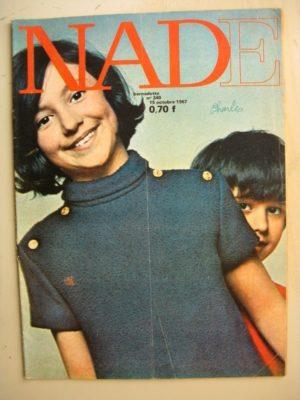 NADE N°340 (15 octobre 1967) Les jumelles –Le collier de Mimout (Janine Lay)