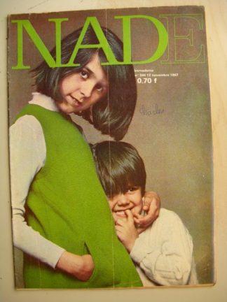 NADE (Bernadette) n°344(12 novembre 1967) Les jumelles (Janine Lay) Yvan Marié - Claude Henri