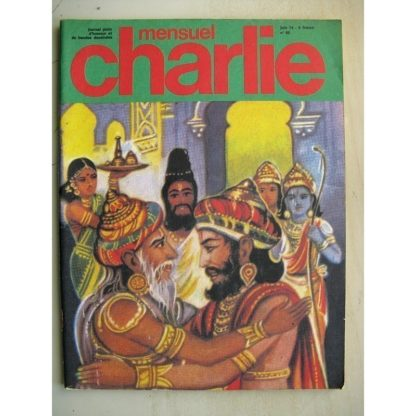 CHARLIE MENSUEL N°65 (1974) - Ramayana / H.P. (Kostandi & Buzzeli)