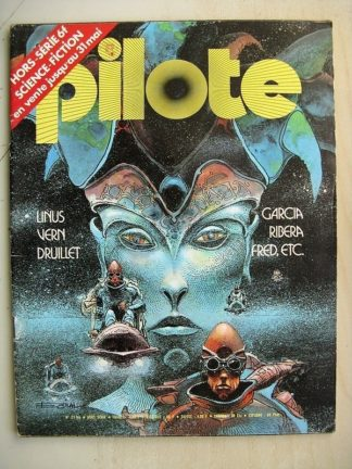 PILOTE N°21BIS Science Fiction - PILOTE N°21BIS Hors Série Science Fiction - Dracurella et le dragon (Julio Ribera)