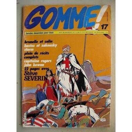 GOMME N°17 Storm - Le rayon nitron (Don Lawrence - Dick Martena) Stève Séverin - la ceinture d'émeraude (Follet - Stoquart)