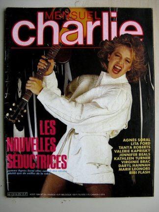 CHARLIE MENSUEL N°29 (1984) Sarvane (Jordi Bernet) Marie Jade (Chris Scheuer) Fille du Wolfland (Saudelli Barreiro)