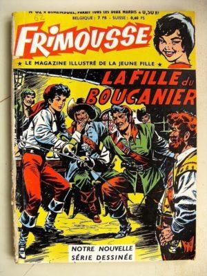 FRIMOUSSE N°62 LA FILLE DU BOUCANIER – Marie Stuart – La mystérieuse sequestrée (Châteaudun 1961)