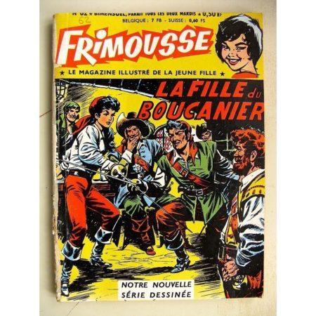 FRIMOUSSE N° 62 LA FILLE DU BOUCANIER - Marie Stuart - La mystérieuse sequestrée (Châteaudun 1961)