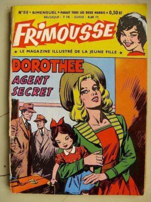 FRIMOUSSE N°88 Dorothée agent secret  (Châteaudun 1962)
