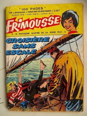 FRIMOUSSE N°129 Autant en emporte la haine – Les chats Sauvages – Les ennemis héréditaires (Châteaudun 1963)