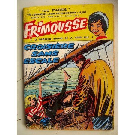 FRIMOUSSE N° 129 Autant en emporte la haine - Les chats Sauvages - Les ennemis héréditaires (Châteaudun 1963)