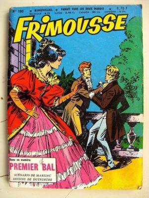 FRIMOUSSE N°180 Premier Bal (Marijac – DUT) – Le gang des copains (Gaty) Jean Leccia (Châteaudun 1965)