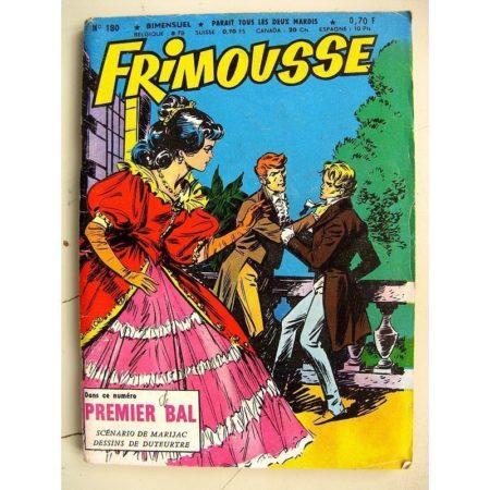 FRIMOUSSE N° 180 Premier Bal (Marijac - DUT) - Le gang des copains (Gaty) Jean Leccia (Châteaudun 1965)
