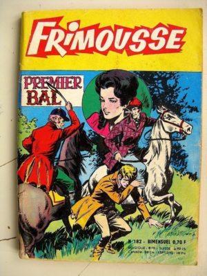 FRIMOUSSE N°182 Premier Bal (Marijac – DUT) – Le gang des copains (Gaty) Noël Colombier – Sissi Princesse (Châteaudun 1965)