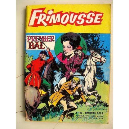 FRIMOUSSE N° 182 Premier Bal (Marijac - DUT) - Le gang des copains (Gaty) Noël Colombier - Sissi Princesse (Châteaudun 1965)