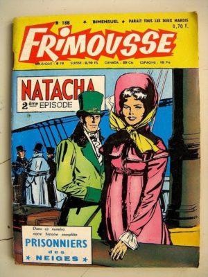 FRIMOUSSE N°188 Virginie du Texas (Marijac – DUT) – Juliette agent secret – jean Aymond (Châteaudun 1965)