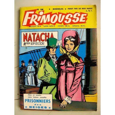 FRIMOUSSE N° 188 Virginie du Texas (Marijac - DUT) - Juliette agent secret - jean Aymond (Châteaudun 1965)