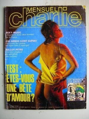 CHARLIE MENSUEL N°31 (1984) La fille du Wolfland (Franco Saudelli Barreiro) Les fantasmes de Zoé (Mellot- Levis)
