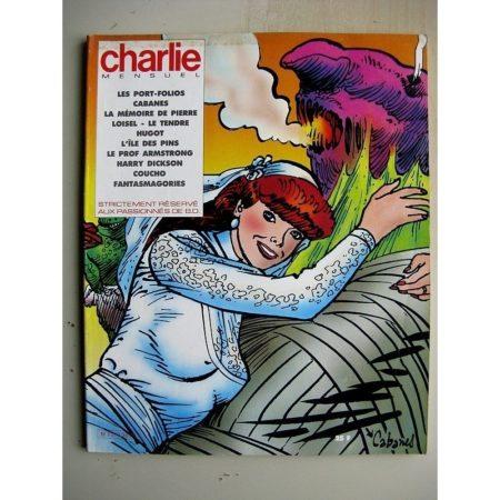 CHARLIE MENSUEL N°38 (1985) Fantasmagories (Horacio Altuna) L'île des pins (Clavé) Dans les villages (Max Cabanes)