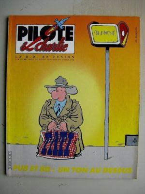 PILOTE ET CHARLIE N°4 (1986) Jack Palmer (Pétillon) Marie Jade (Scheuer) Pognon's Story (Dimitri) Les Marx Brothers (Lesueur)