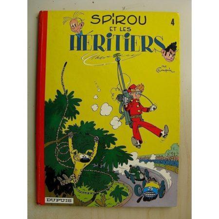 SPIROU ET FANTASIO 4 - SPIROU ET LES HERITIERS - Franquin (Dupuis 1974) Très bon état
