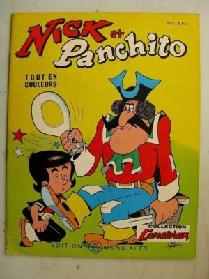 NICK ET PANCHITO N°20 La sorcière s'en mêle (Jean Louis Pesch – Lellbach) Editions Mondiales 1966