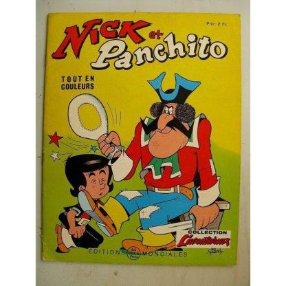 NICK ET PANCHITO N°20 La sorcière s'en mêle (Jean Louis Pesch - Lellbach) Editions Mondiales 1966