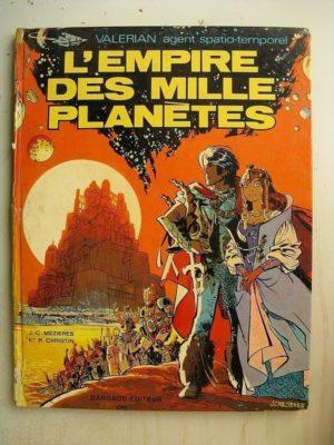 VALERIAN TOME 2 – L'empire des mille planètes (Mézières – Christin) Dargaud 1971 EO
