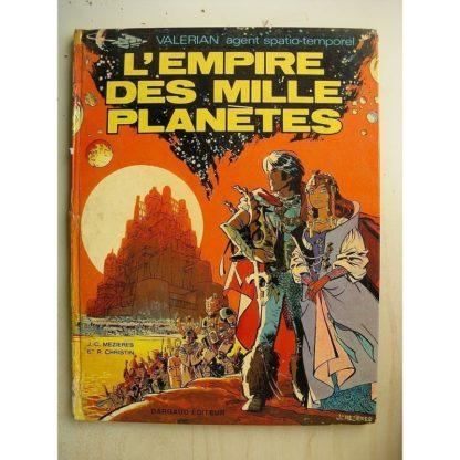 VALERIAN TOME 2 - L'empire des mille planètes (Mézières - Christin) Dargaud 1971 EO