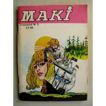 MAKI N°3 les pirates des grands lacs (Jeunesse et Vacances 1977)