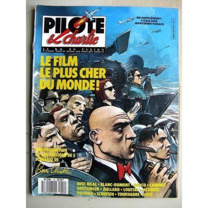PILOTE et CHARLIE N°22 (1988) Le Bien, le Mal et le Reste (Enki Bilal) Diables d'hommes (Saudelli)