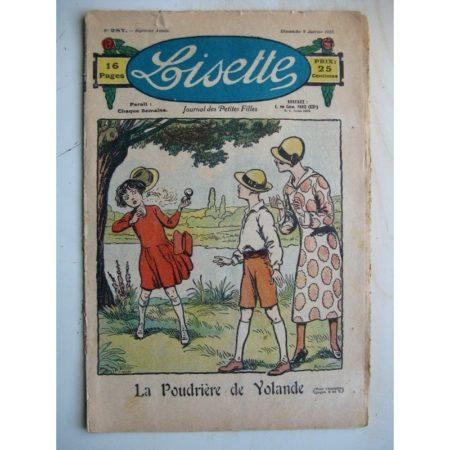 LISETTE n°287 (9 janvier 1927)