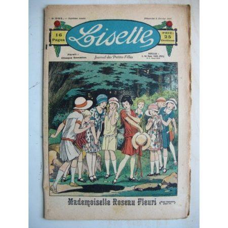 LISETTE n°291 (6 février 1927) Mademoiselle Roseau Fleuri (Louis Maîtrejean) Une bonne farce (Pierre Dmitrow)