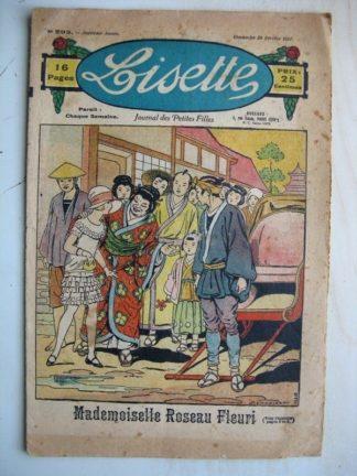 LISETTE n°293 (20 février 1927) Mademoiselle Roseau Fleuri (Louis Maîtrejean) Berthe veut patiner (Henri Ferran)