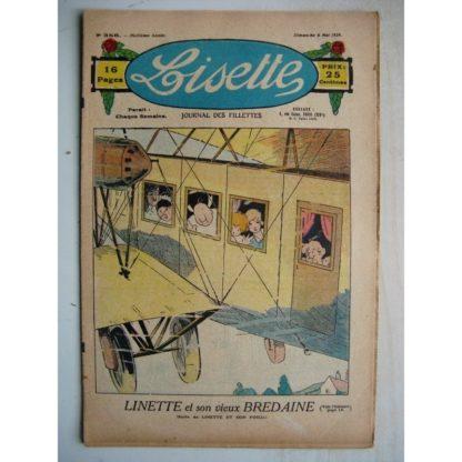LISETTE n°356 (6 mai 1928) Linette et son vieux bredaine (Louis Maîtrejean) Le ballon (Maurice Radiguet)